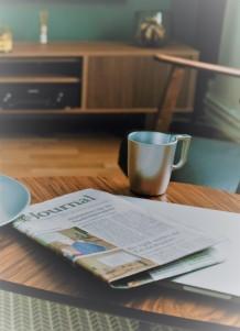 fold newspaper
